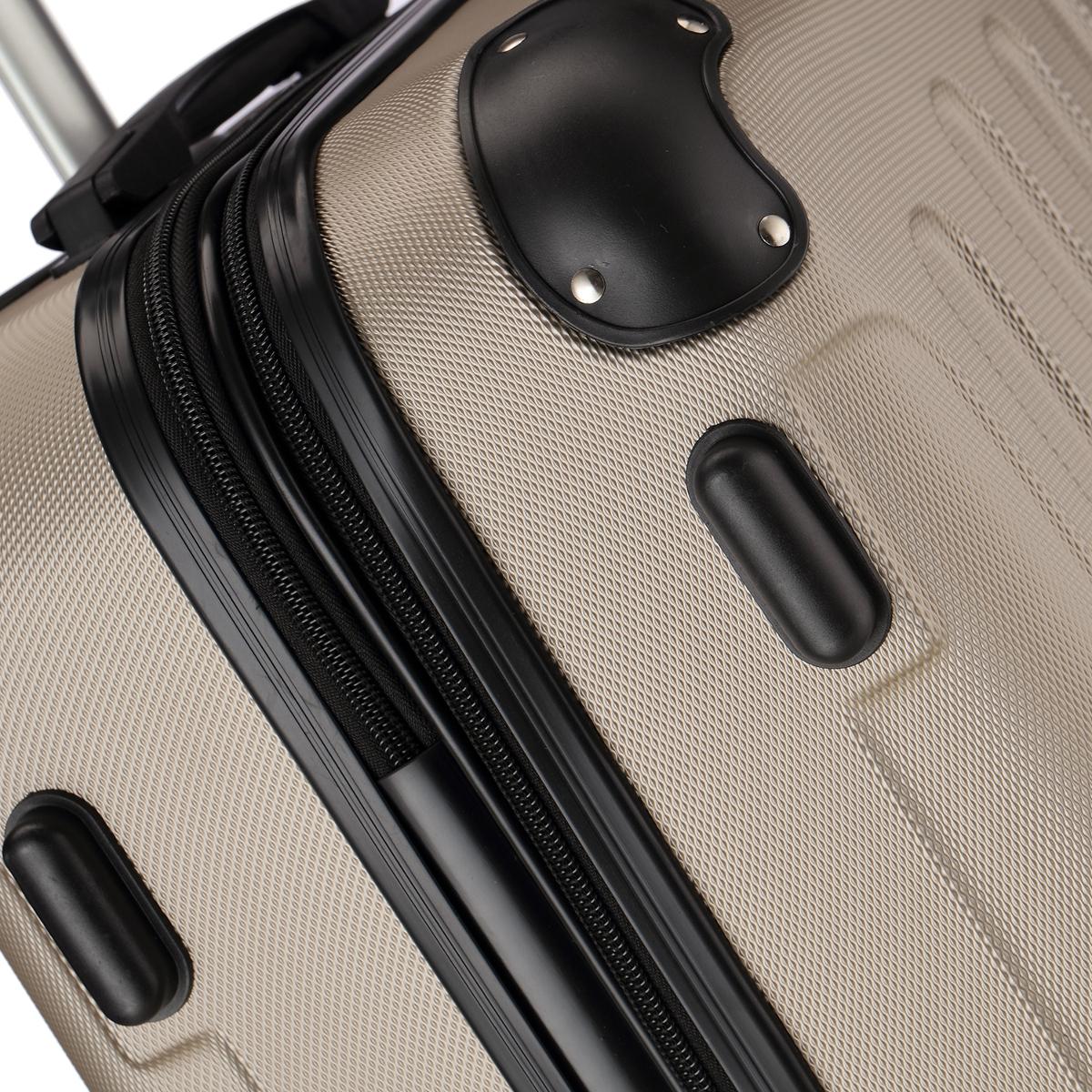 Koffer-Flexot-2045-Hartschalenkoffer-Trolley-Kofferset-Reisekoffer-M-L-XL-Set Indexbild 52