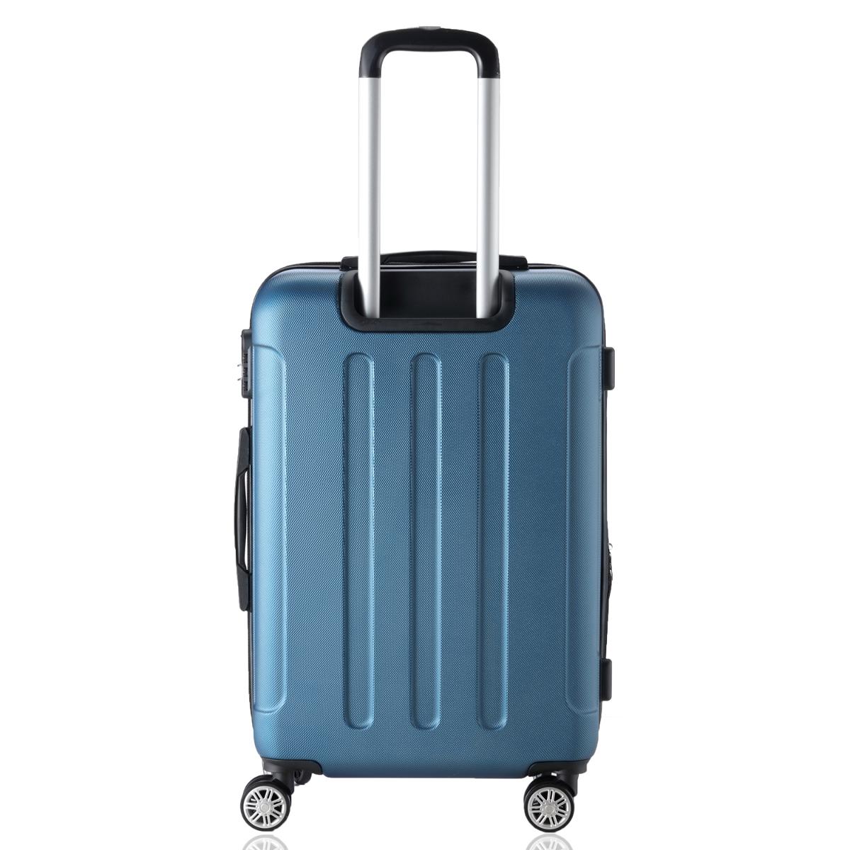 Koffer-Flexot-2045-Hartschalenkoffer-Trolley-Kofferset-Reisekoffer-M-L-XL-Set Indexbild 13