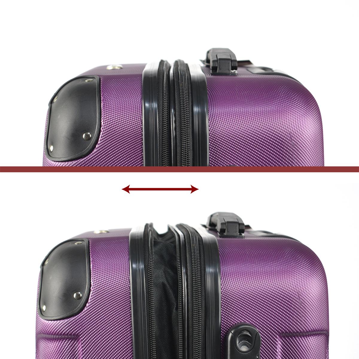 Koffer-Flexot-2045-Hartschalenkoffer-Trolley-Kofferset-Reisekoffer-M-L-XL-Set Indexbild 92
