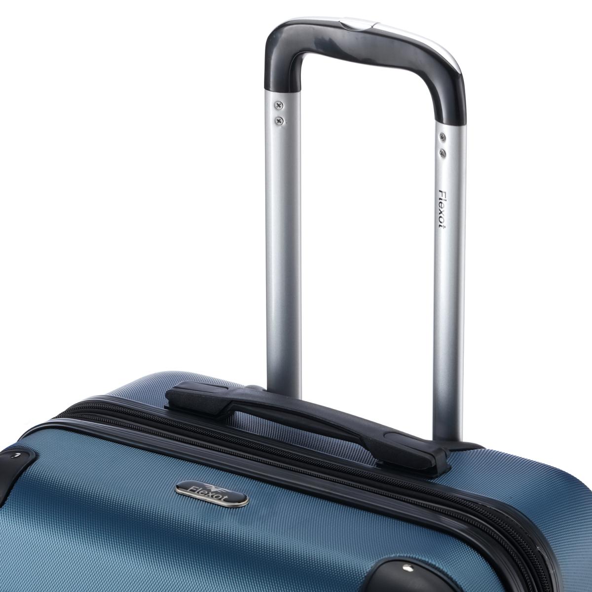 Koffer-Flexot-2045-Hartschalenkoffer-Trolley-Kofferset-Reisekoffer-M-L-XL-Set Indexbild 20
