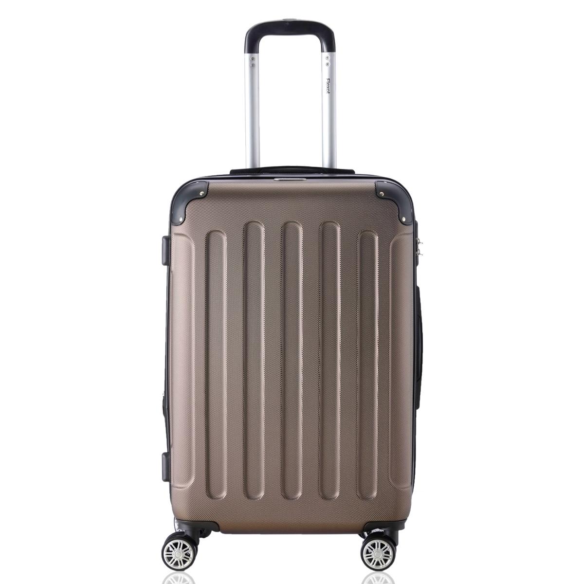 Koffer-Flexot-2045-Hartschalenkoffer-Trolley-Kofferset-Reisekoffer-M-L-XL-Set Indexbild 58