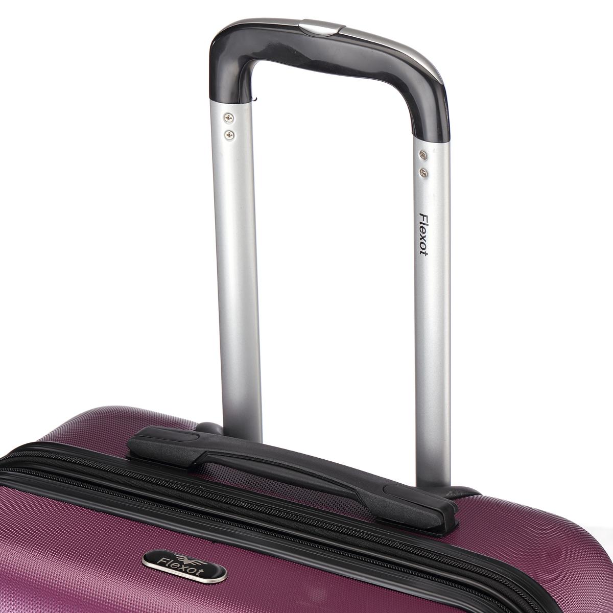 Koffer-Flexot-2045-Hartschalenkoffer-Trolley-Kofferset-Reisekoffer-M-L-XL-Set Indexbild 86