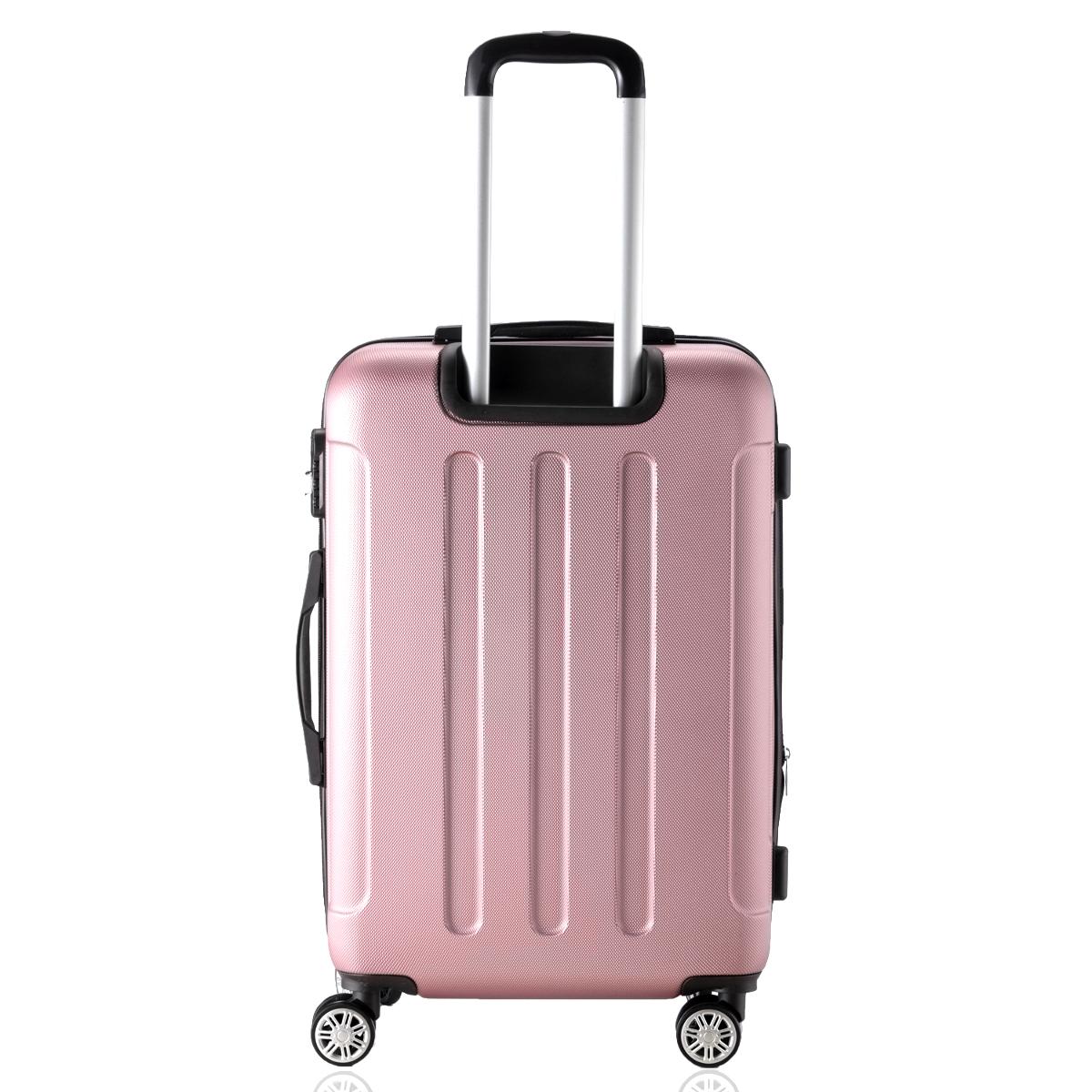 Koffer-Flexot-2045-Hartschalenkoffer-Trolley-Kofferset-Reisekoffer-M-L-XL-Set Indexbild 25