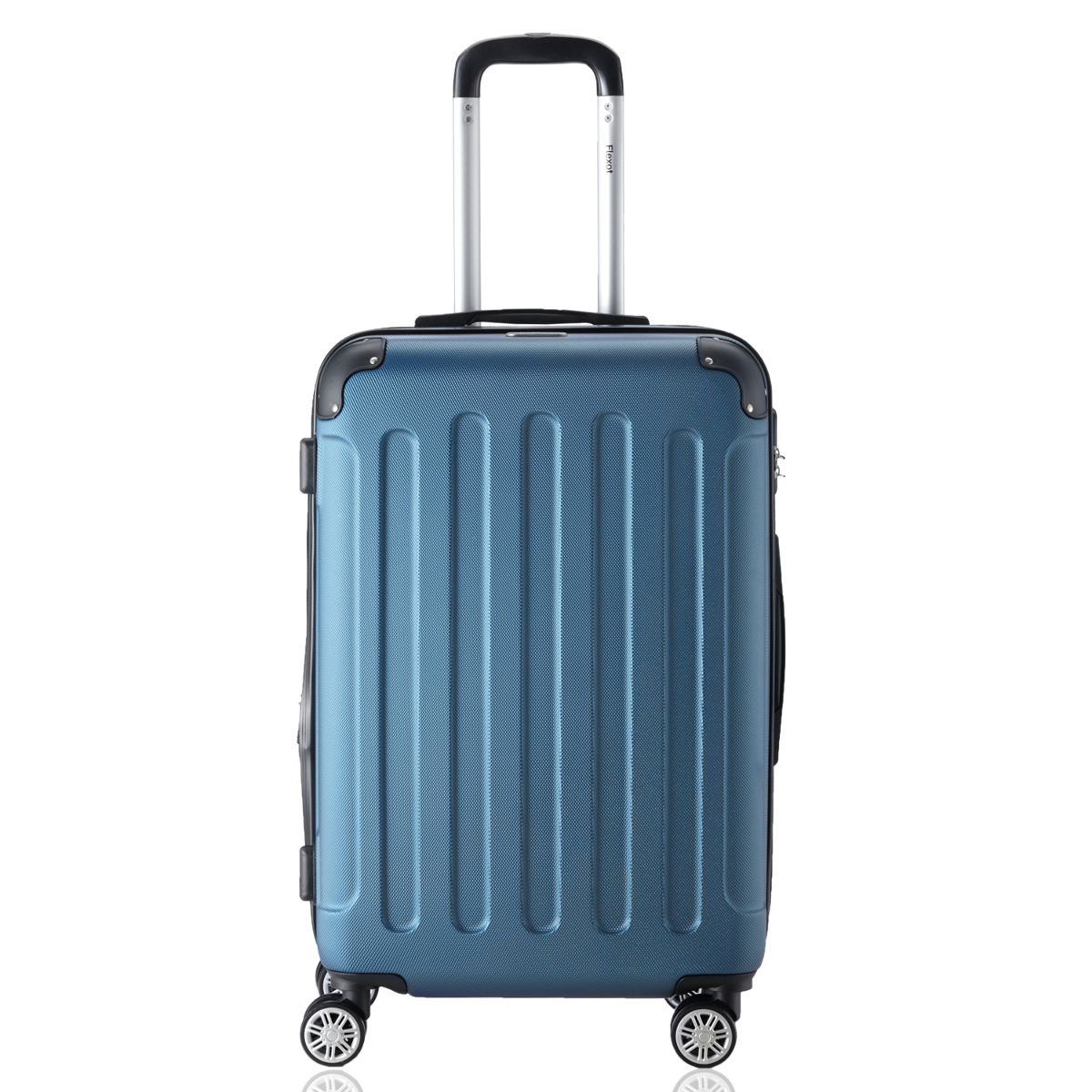 Koffer-Flexot-2045-Hartschalenkoffer-Trolley-Kofferset-Reisekoffer-M-L-XL-Set Indexbild 12