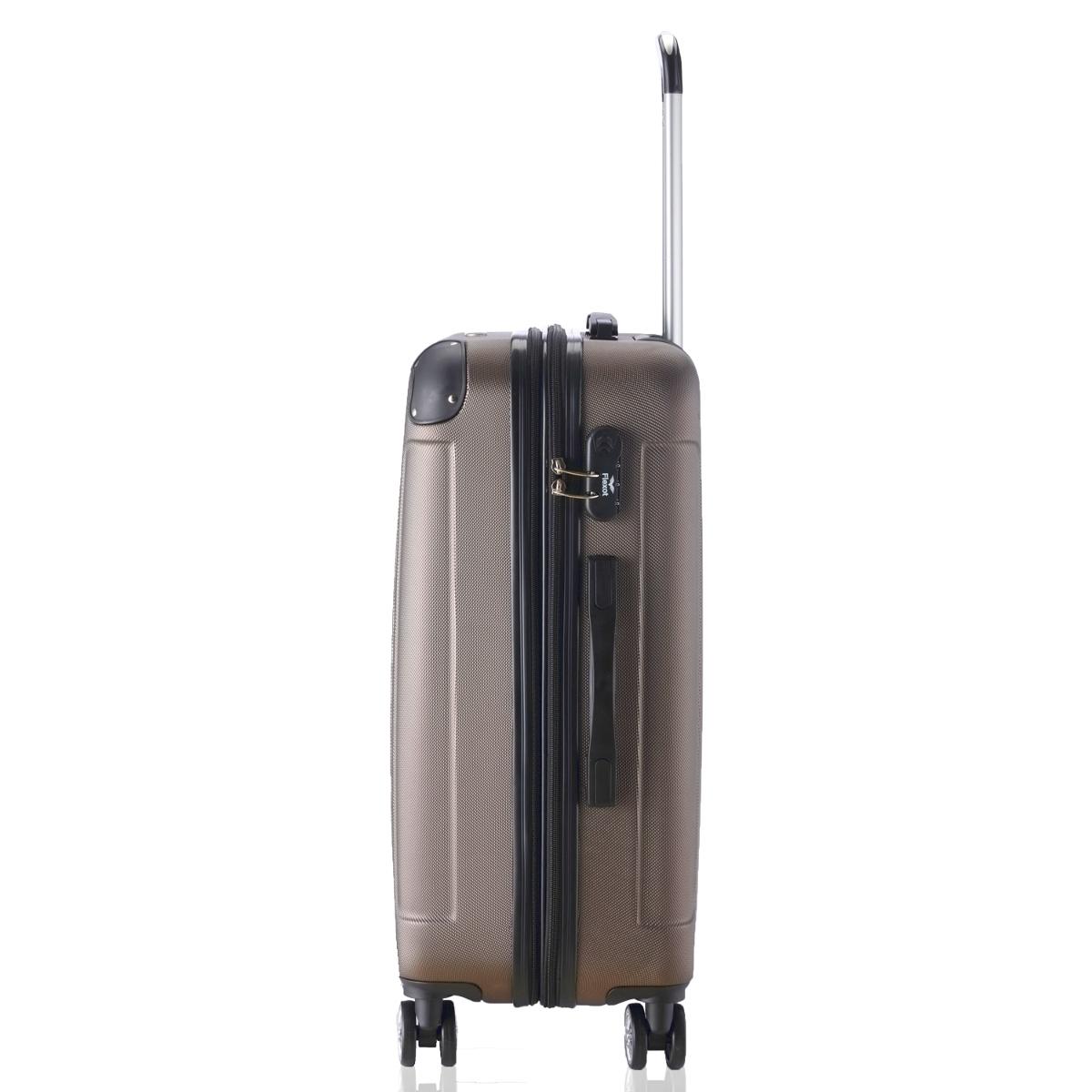 Koffer-Flexot-2045-Hartschalenkoffer-Trolley-Kofferset-Reisekoffer-M-L-XL-Set Indexbild 59