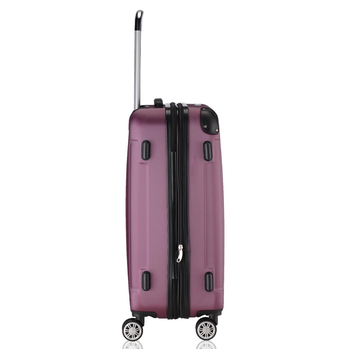 Koffer-Flexot-2045-Hartschalenkoffer-Trolley-Kofferset-Reisekoffer-M-L-XL-Set Indexbild 83