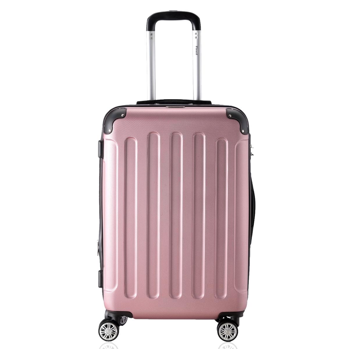Koffer-Flexot-2045-Hartschalenkoffer-Trolley-Kofferset-Reisekoffer-M-L-XL-Set Indexbild 24