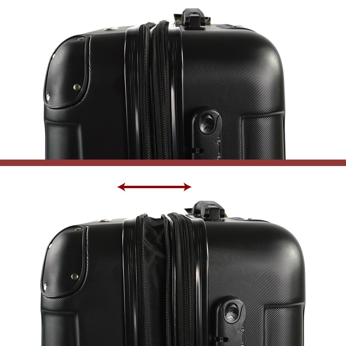 Koffer-Flexot-2045-Hartschalenkoffer-Trolley-Kofferset-Reisekoffer-M-L-XL-Set Indexbild 44