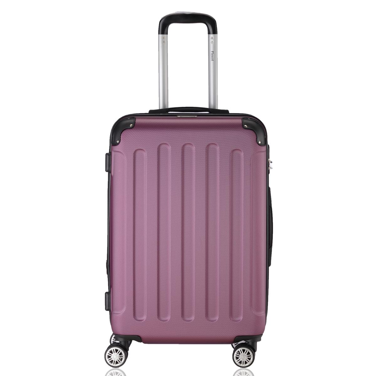 Koffer-Flexot-2045-Hartschalenkoffer-Trolley-Kofferset-Reisekoffer-M-L-XL-Set Indexbild 82
