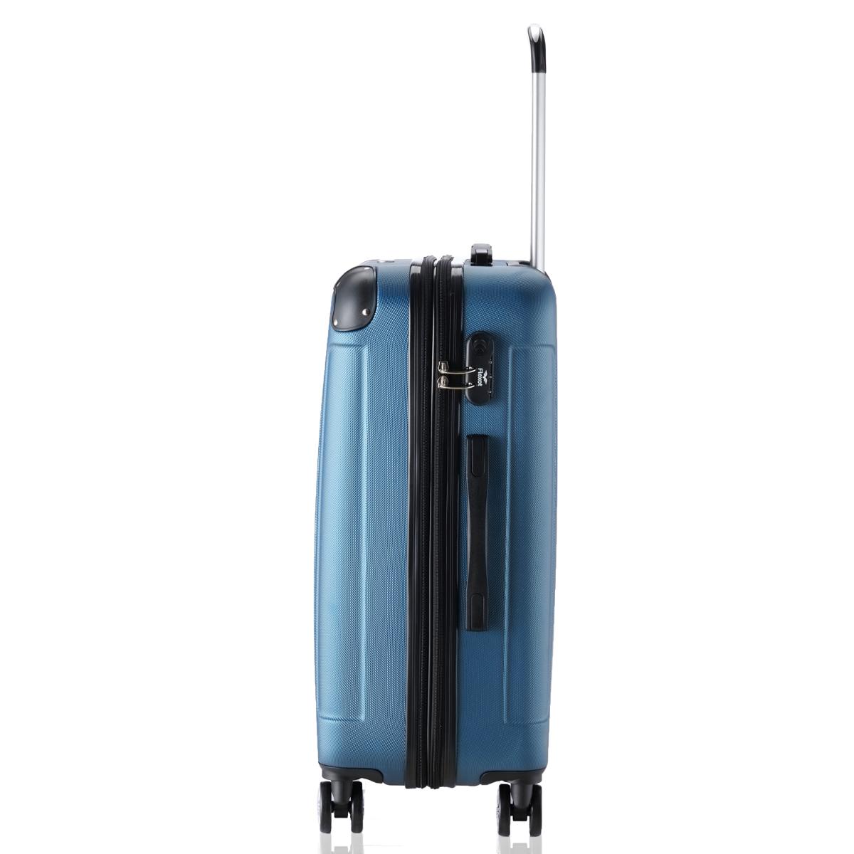 Koffer-Flexot-2045-Hartschalenkoffer-Trolley-Kofferset-Reisekoffer-M-L-XL-Set Indexbild 14