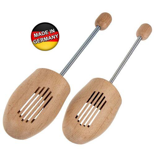 42-43 /& Schuhanzieher Sparpaket für 5 Paar Naturholz Schuhspanner Gr