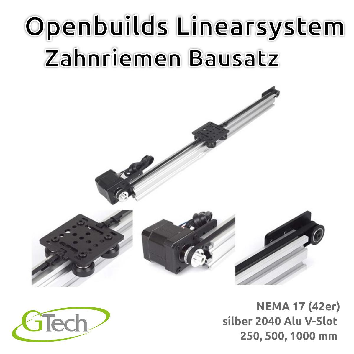 Indexbild 13 - Openbuilds Linearsystem Zahnriemen 2040 V Slot NEMA 17