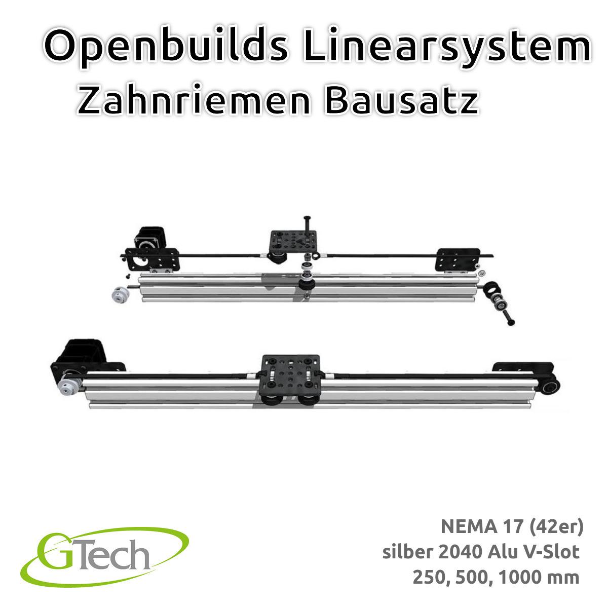 Indexbild 12 - Openbuilds Linearsystem Zahnriemen 2040 V Slot NEMA 17