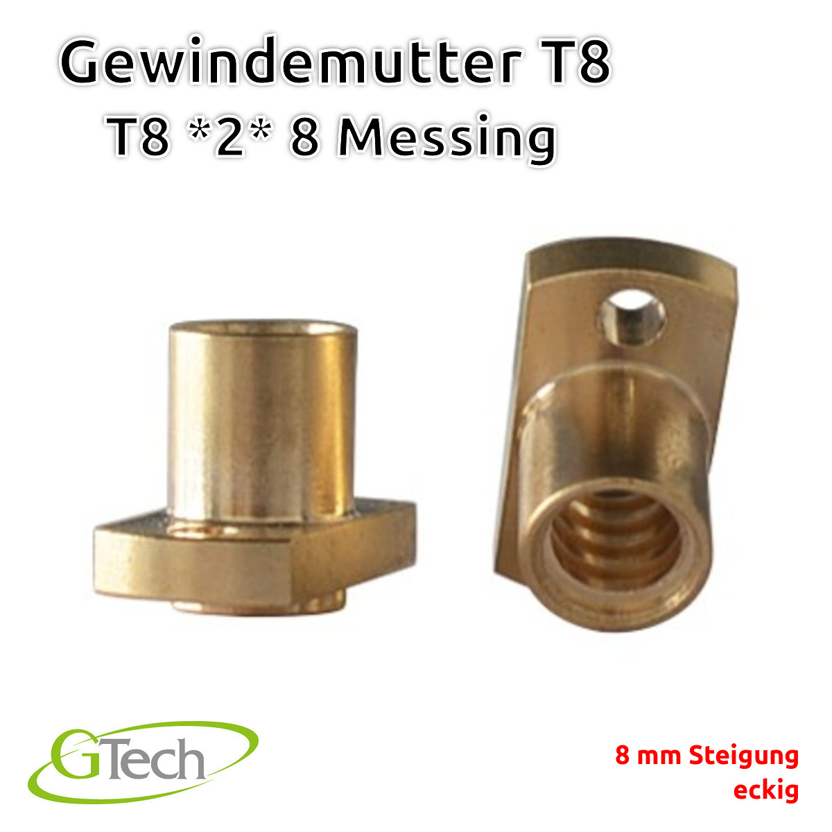 T8-Gewinde-Trapezgewinde-Gewindestange-Edelstahl-Z-Achse-CNC-3D-Druck Indexbild 60