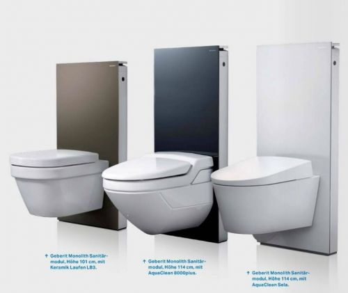 geberit monolith sanit rmodul f r wand wc 114cm glas sand 131031tg5 ebay. Black Bedroom Furniture Sets. Home Design Ideas