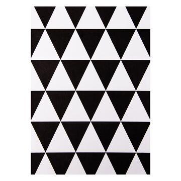 Karten 6er Set Postkarten 13 x18cm Bilder Schwarz Weiß Scandi Geometrisch Design