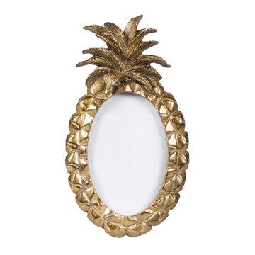 Vintage Bilderrahmen Ananas Gold Foto Rahmen Bild Trend Deko Standbilderrahmen