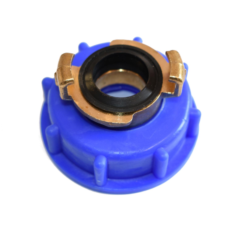 Adapter IBC auf Storz Kupplung D Container Regenwassertank Wassertank Wasserfaß