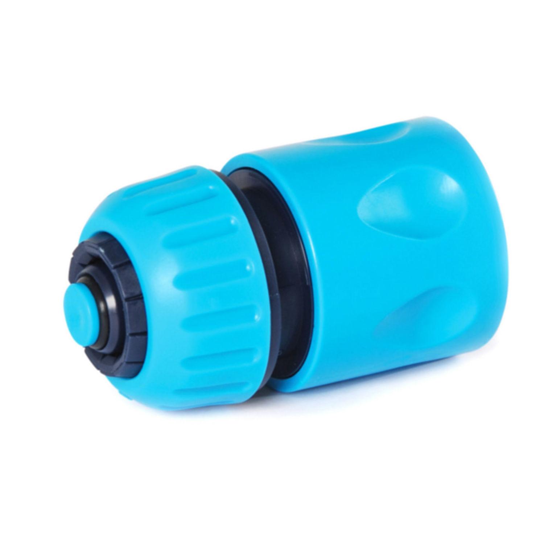 1 2 zoll schnellkupplung mit wasserstop f r schlauch wasserschlauch verbinder ebay. Black Bedroom Furniture Sets. Home Design Ideas