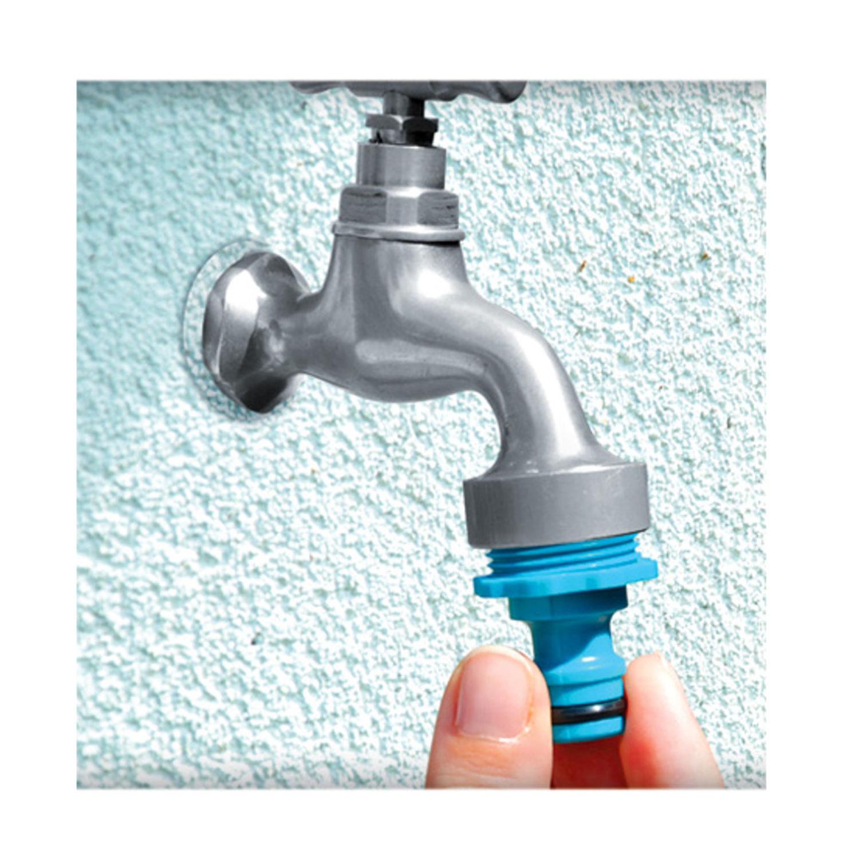 1 2 zoll wasserhahn anschluss m aussengewinde schlauch wasserschlauch ebay. Black Bedroom Furniture Sets. Home Design Ideas