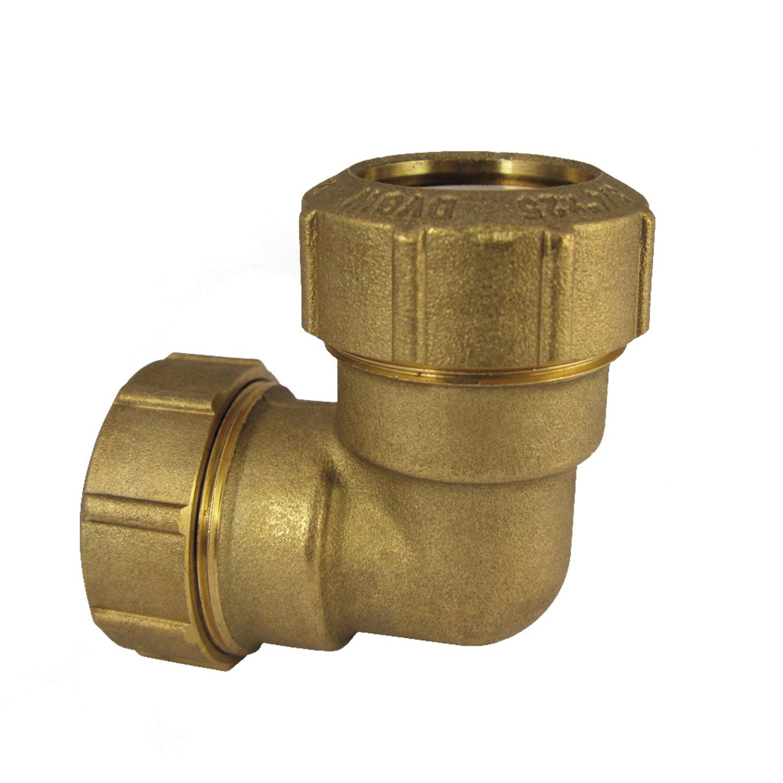 Kupplung Muffe 25x25 Messing Pe Verschraubung Rohr DVGW Wasser Fitting Verbinder