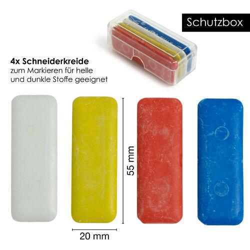 10x Stoffkreide Schneiderkreide Stoff Kreide Schneiderei Kennzeichnung G4K9