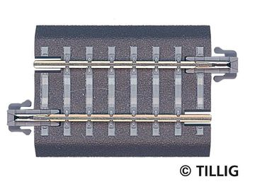 TT Bettungsgleis grau 6 Gerade 43 mm G3