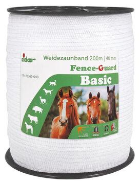 200 m 10 mm Weidezaunband für Weidezaun Elektrozaun Breitband Pferde Band