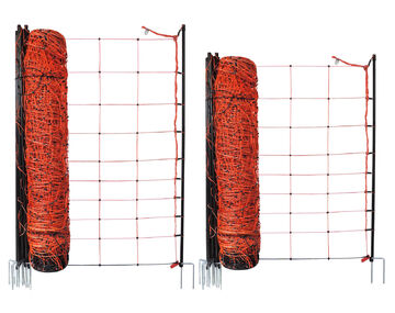 Elektrozaun 50m 120cm 2 Spitzen Euronetz Schafnetz Weidezaun Hundezaun Schafzaun