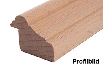 Falzleiste Massivholz 21 x 28 mm