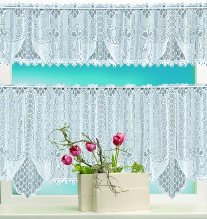 bistrogardinen fenstergardinen gardinen 2 teilig 160 x 60 cm und 160 x 30 cm neu ebay. Black Bedroom Furniture Sets. Home Design Ideas