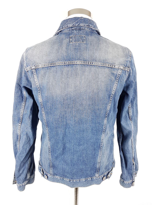 Gant Jeansjacke Herren S Blau Denim Trucker Stone Wash | eBay