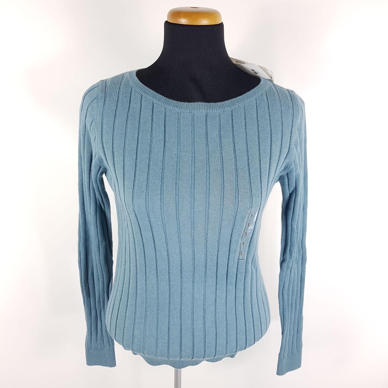 Uniqlo Cotton Cashmere Strickpullover Damen S Blau Pullover Sweatshirt  Kaschmir 1816bc270f
