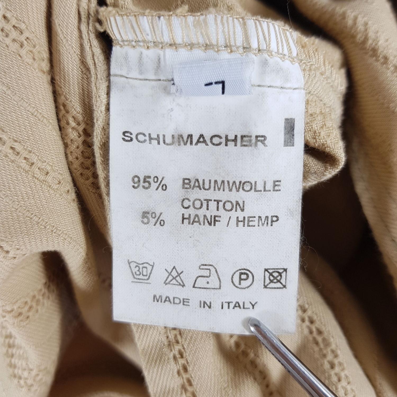 Details zu Dorothee Schumacher Mantel mit Hanf Damen L Braun Übergangsmantel Jacke Trench