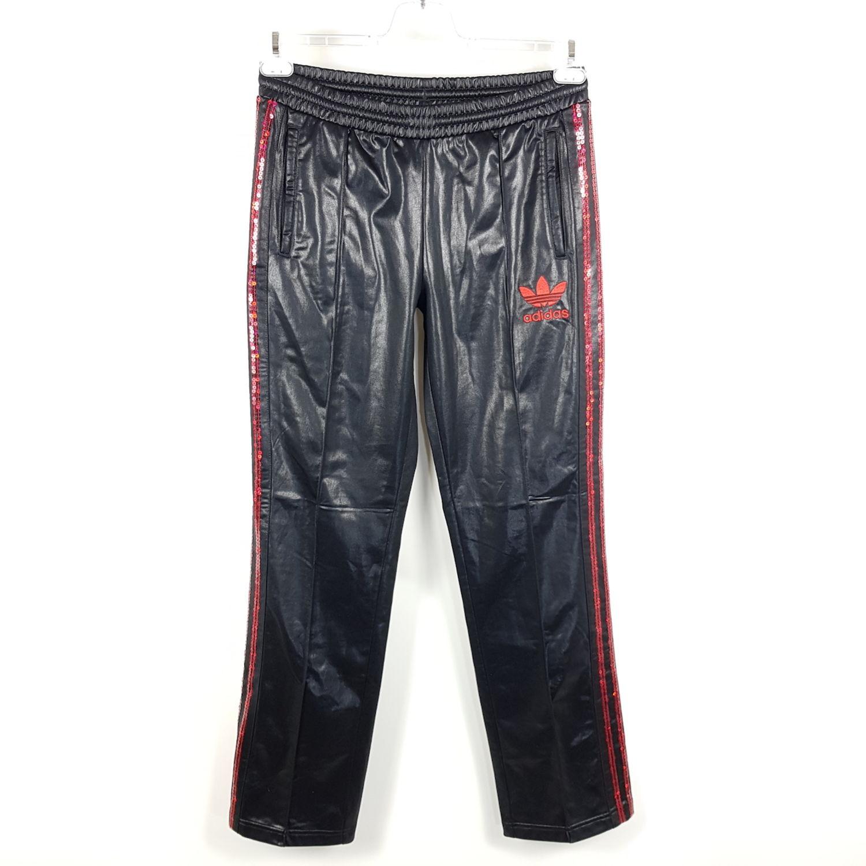 100% top quality presenting outlet on sale Adidas Chile 62 Hose Damen Gr. 36 Schwarz Rot Vintage Look ...