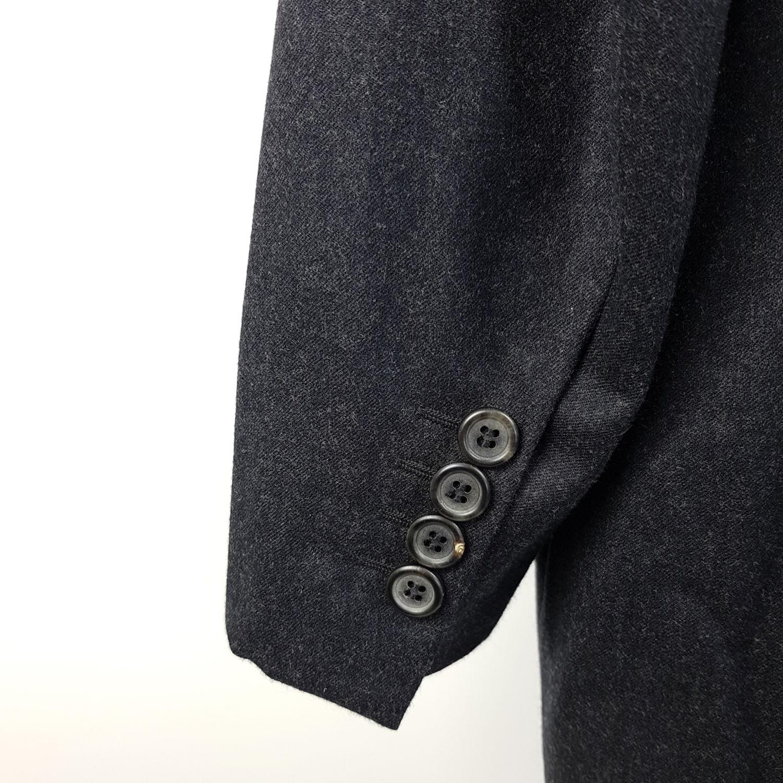4214de493408d Prada Anzug Herren Gr. 50 Grau Regular 2-Knopf Schurwolle Wolle Sakko Hose  L30