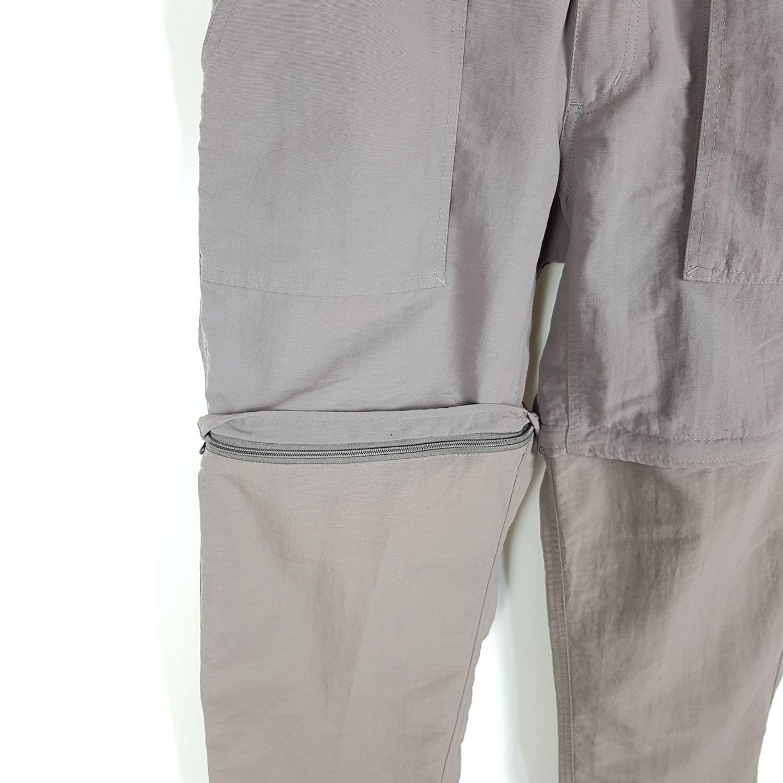 Details für beste Sammlung das billigste Details zu The North Face Funktionshose Herren S Grau Zip Off Trekking  Wander Hose
