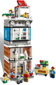 LEGO Creator 31097 Stadthaus mit Zoohandlung /& Café NEU und OVP