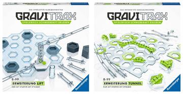 Ravensburger GraviTrax 2er Set Lift Tunnel