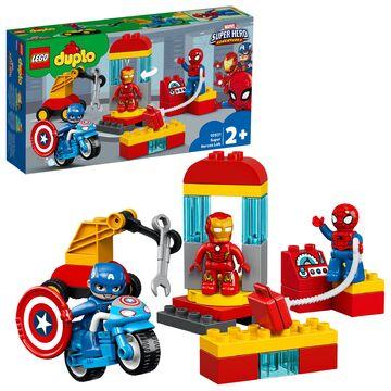 """NEU /& OVP LEGO®  Duplo®  10921  /"""" Iron Mans Labor-Treffpunkt /"""""""