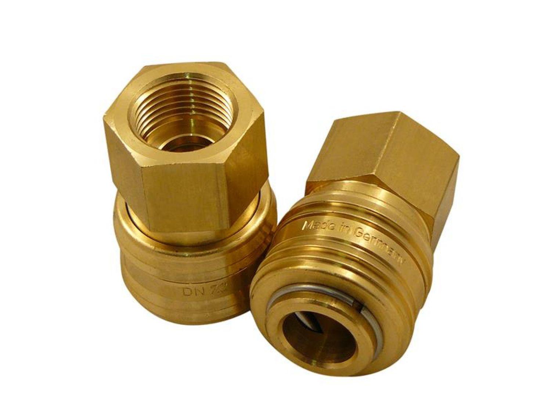 Druckluftanschluss 3//8 Zoll IG DN 7.2 Fitting Stecknippel Kompressor Druckluft