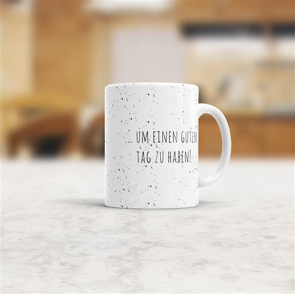 Glück Geschenk Geburtstag Kaffee Statement-Tasse verschiedene Sprüche