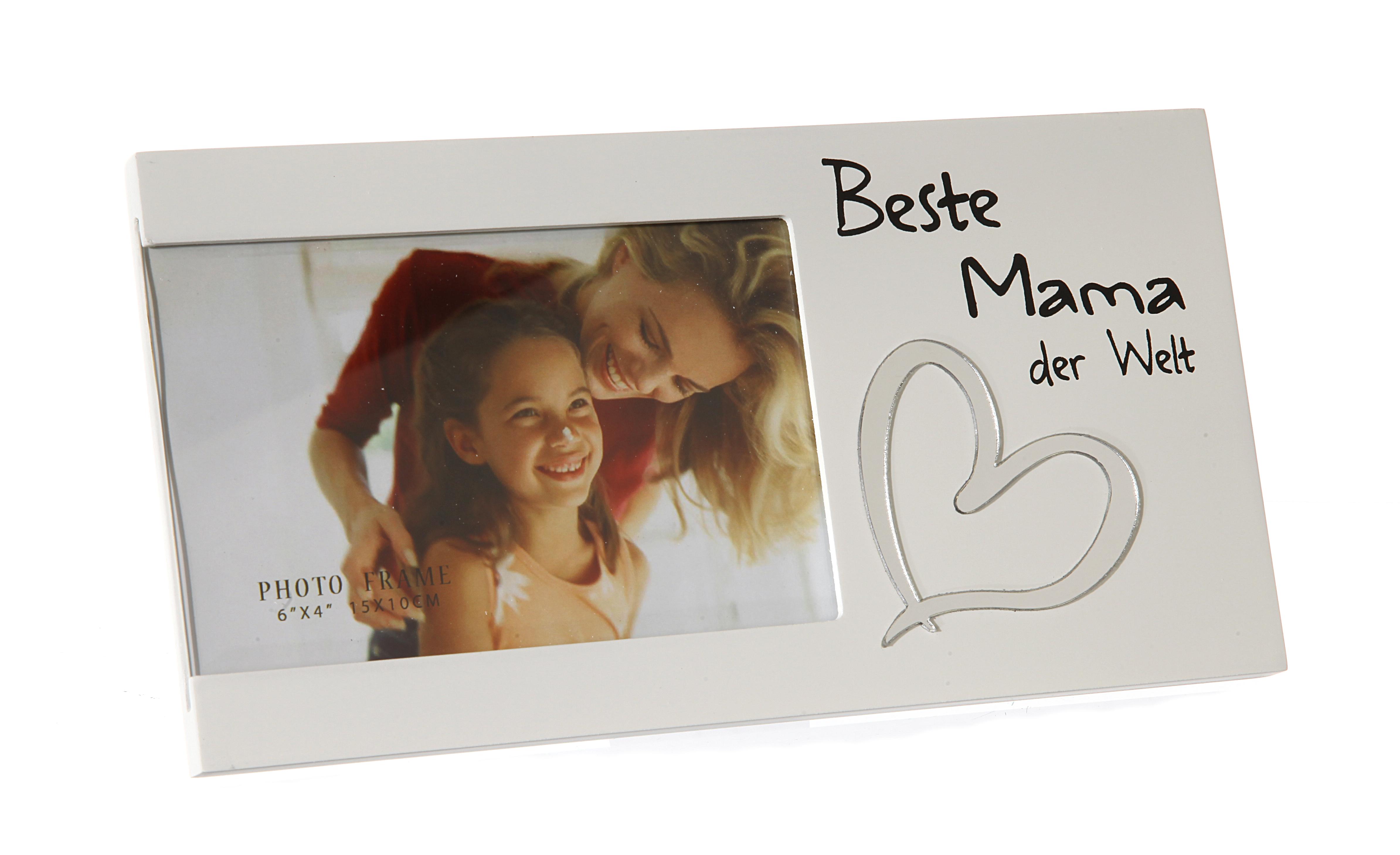 Bilderrahmen Foto Spruch Beste Mama der Welt Geschenk Muttertag   eBay