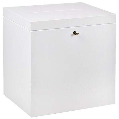Details Zu Einwurfbox 17 Liter Urne Holzkiste Holzbox Schloß Visitenkartenbox Sammelbox