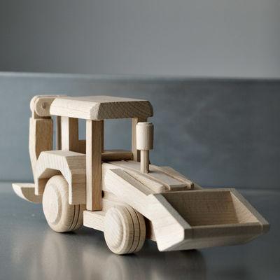 Baggerlader Frontlader Radlader Bagger Holz Holzspielzeug