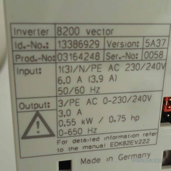 Lenze Frequenzumrichter E82EV551/_2C200