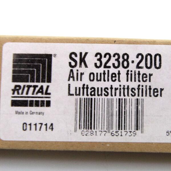 Rittal SK 3240.060 Luftaustrittsfilter-EMV OVP