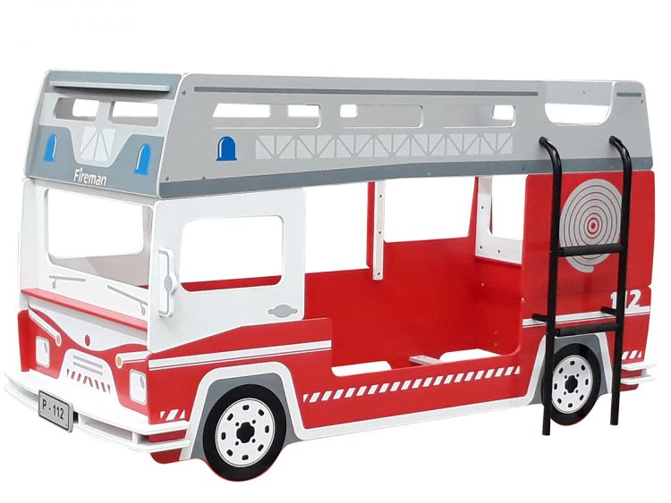 Etagenbett Bus : Etagenbett hochbett kinderbett motivbett autobett bett kindermöbel