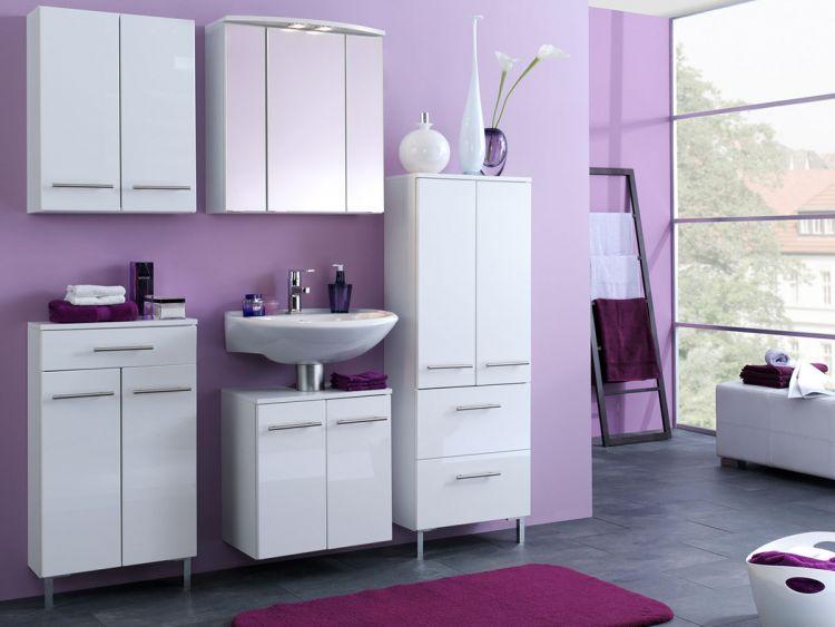 midischrank seitenschrank hochschrank badezimmerschrank badschrank wei parma ebay. Black Bedroom Furniture Sets. Home Design Ideas