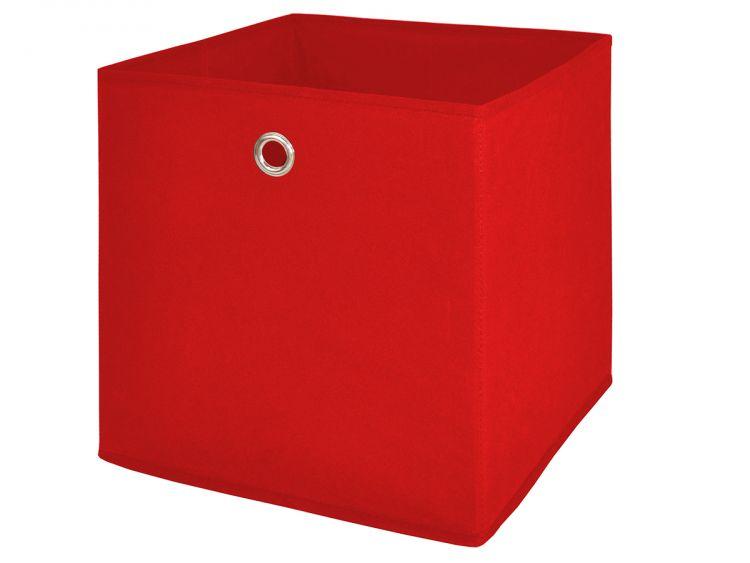 """Faltbox Schachtel Box Vlies Kiste Aufbewahrungsbox Spielkiste /""""One I/"""" Weiß"""